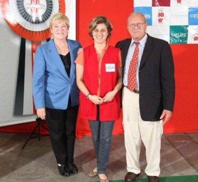 No KCSP, com o amado Mr. Frank Sabella (que saudade!) e Mrs. Dorothy Collier